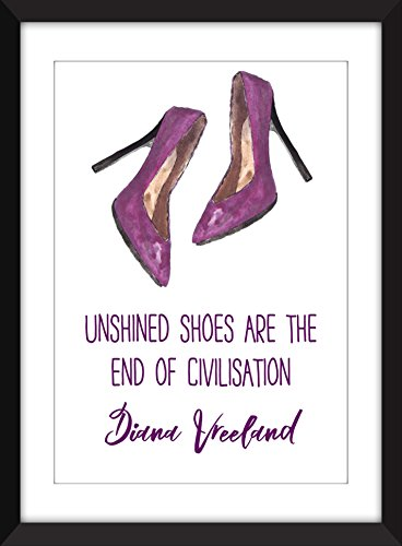 diana-vreeland-unshined-shoes-quote-unshined-zapatos-cita-a3-a4-a5-5-x-7-8-x-10-11-x-14-impresion-re