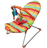 Kaysa-TS Soft Fabric Baby Vibrating Und Musical Bouncy Chair, 0-8 Monate Bis Comfort Baby Artefakt