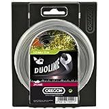 Oregon 106501E Duoline Fil de débroussailleuse 2,4 mm x 90 m