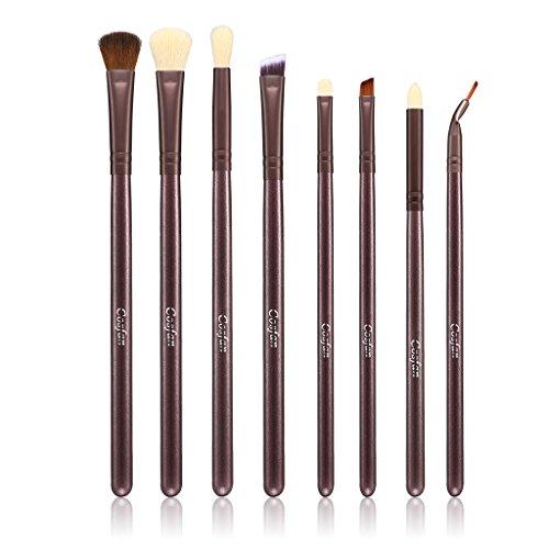 8 PCS Pinceau Maquillage Brosse Professionnelle Premium Synthétique Kabuki Fondation Maquillage Correcteur Eye Liquide Poudre Crème Cosmétique Pinceaux Kit Pour les lèvres des yeux Beauté sans défaut