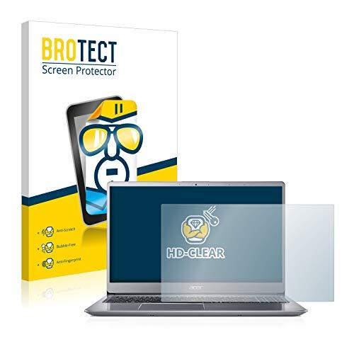 BROTECT HD Clear Displayschutz Schutzfolie für Acer Swift 3 SF315-52 (kristallklar, extrem Kratzfest, schmutzabweisend)
