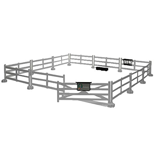 Bruder 62504 - recinzione cavalli, bianco
