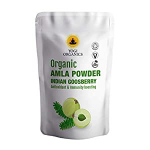 Organic AMLA Powder - Indian Gooseberry - Soil Association Certified 1