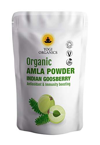 Bio Amla Beeren Pulver 1kg (2 x 500 g) - Indische Stachelbeere - Premium Qualität