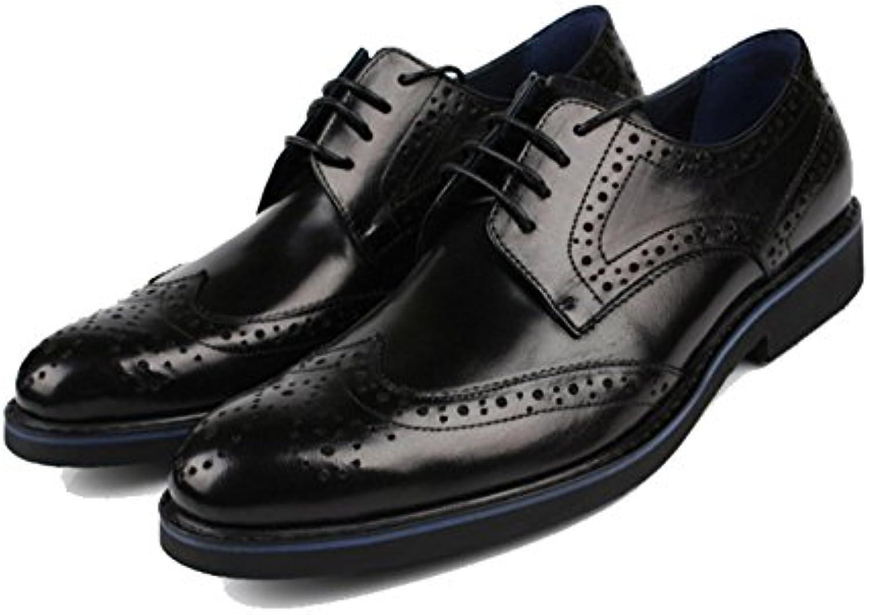 ZPEDY Scarpe da Uomo in Pelle Britannica Scarpe da Uomo in Pelle Britannica Scarpe Europee   Di Nuovi Prodotti 2019    Maschio/Ragazze Scarpa