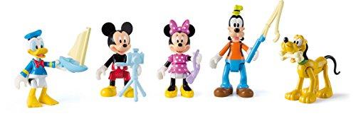 Mickey Mouse Club House - 181861 - Pack De 5 Figurines - Thème À L'aventure