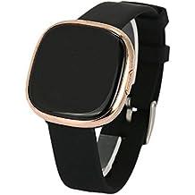 Hanbaili P2 Fitness Tracker HR Monitoraggio della frequenza cardiaca / della pressione sanguigna / del sonno Bluetooth Smart Watch IP67 impermeabile per Android / iOS iPhone, donne / uomini Oro