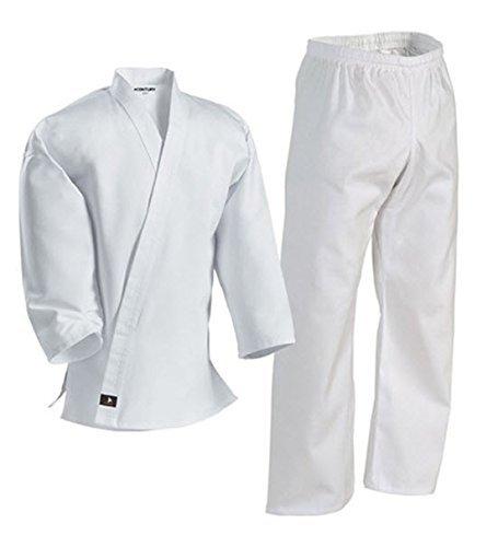 Century arti marziali uniforme con cintura in cotone leggero elastico in vita e coulisse per adulti