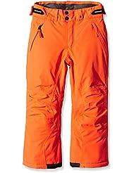 Chiemsee chica pantalones de esquí para mujer Kelda J, otoño/invierno, niña, color Naranja - Firecracker, tamaño 6 años (116 cm)