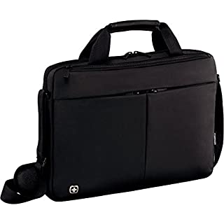 Wenger 601079 Format 35,6 cm (14 Zoll) Laptop Slimcase mit Tablet Tasche schwarz