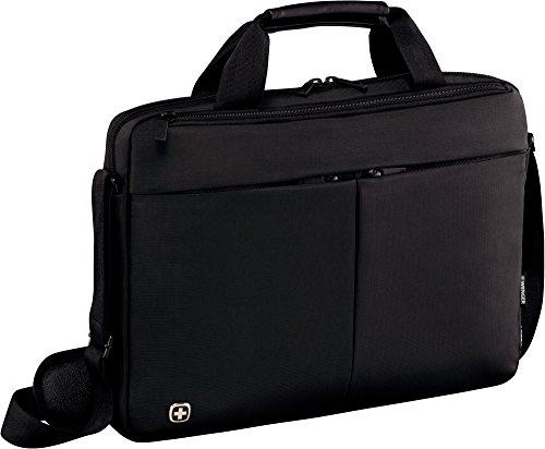 """Wenger 601079 Format - Maletín con Compartimento Acolchado para portátil (14"""") Color Negro"""