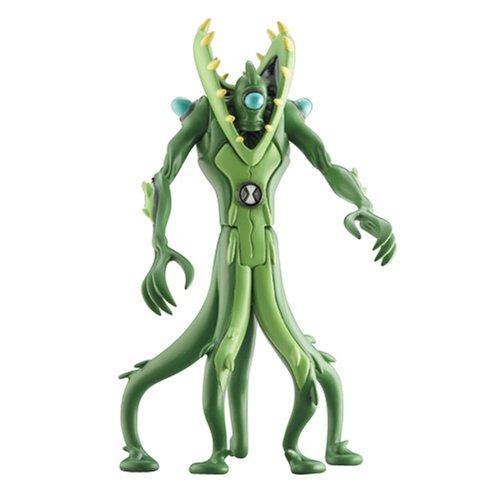 Bandai - Ben 10 - Végétal (Wildvine) - Figurine 10 cm (Import Royaume Uni)