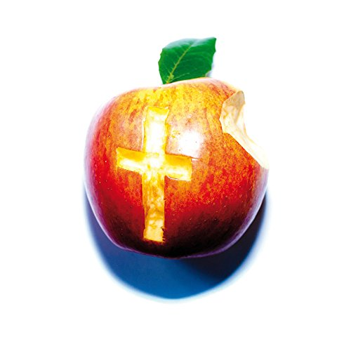 Apple iPhone 4 Housse Étui Silicone Coque Protection Oliver Rath Pomme Croix Sideflip Sac