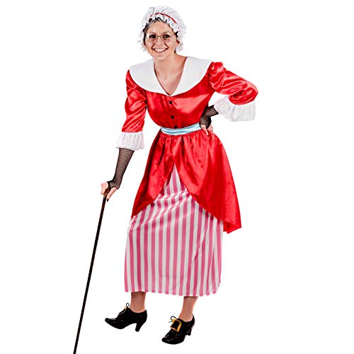 Fun Shack Damen Costume Kostüm, Fairytale Grandmother, XXL