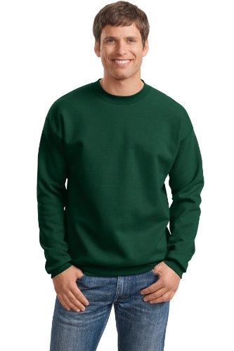 Broken Herz-Symbol auf American Apparel Fine Jersey Shirt Dunkles Waldgrün