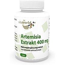 Vita World Artemisia annua Extrakt 30:1 400mg 100 Vegi Kapseln Apotheken Herstellung