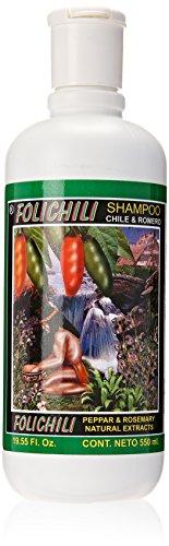 Folichili Chile Y Romero Shampoo 550ml
