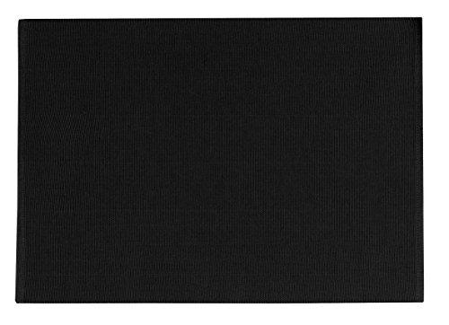Vent Du Sud 6 Sets de Table 33x48 cm Yuco Basalte 33 x 48 cm 100/% Coton