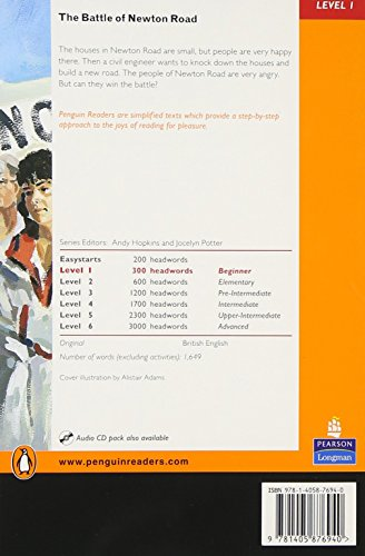 Penguin Readers Level 1 The Battle of Newton Road (Pearson English Graded Readers)