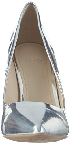 Another Pair of Shoes - Parizk4, Scarpe col tacco Donna Argento (Silver100)