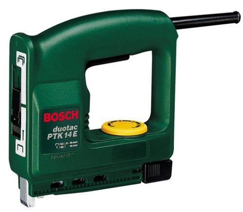"Bosch PTK 14 E Elektrotacker\""Universal\"" + 1000 Klammern (30 Schläge/min, 1,1 kg)"