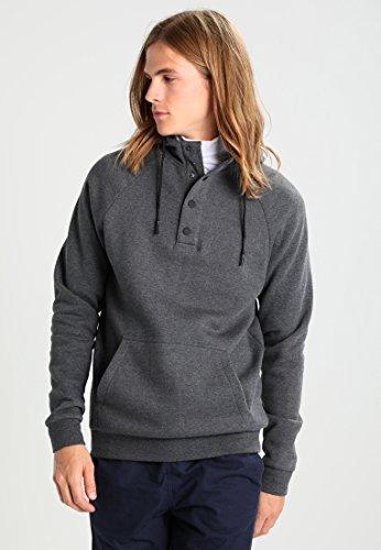 ... Yourturn Hoodie Herren Schwarz oder Anthrazit Grau - Sweatshirt mit  Kapuze   Tasche - Kapuzenpullover für ... eaa52fcfd3