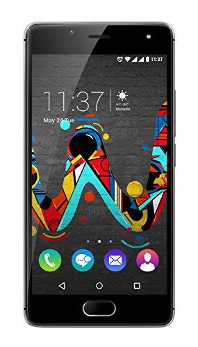 Wiko Ufeel 16GB 4G Negro, Marrón - Smartphone (SIM doble, Android, MicroSIM, EDGE, GPRS, GSM, WCDMA, LTE)