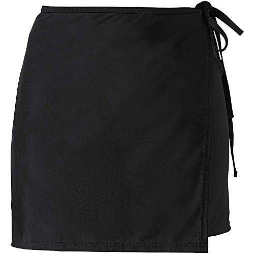 Scuba Women's Mix & Match Plain Swimming Beach Full Wrap Skirt Cover up - UK Seller