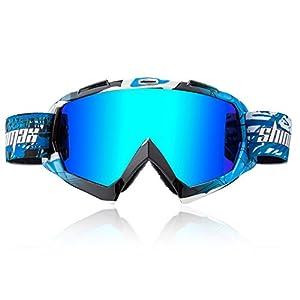Shinmax Motocross Skibrillen Unisex Fahrradbrille Winddicht BrilleSports