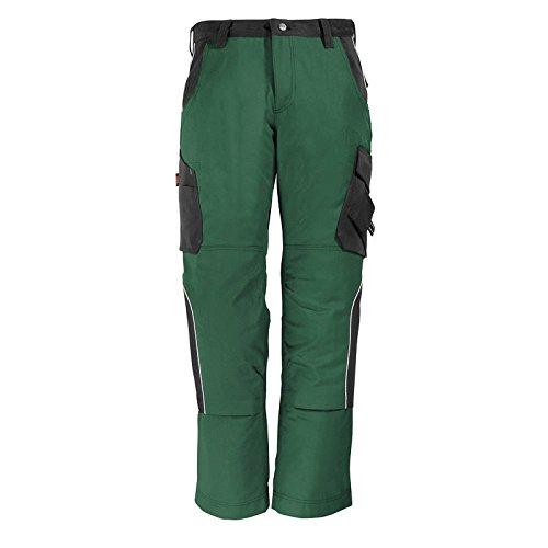 FHB Arbeitshose 'Bruno' Größe 58, grün / schwarz, 130430-2520-58