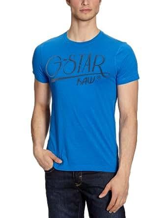 G-STAR Herren T-Shirt MURRAY R T S/S - 84074, Gr. 50/52 (L), Blau (deep ink - 1197)