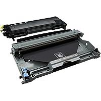 COMBO PACK - Compatibile TN2000 & DR2000 Cartuccia Laser + Tamburo per Brother DCP-7010, DCP-7010L,