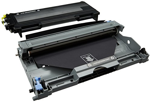 Prestige Cartridge TN2000/DR2000 Tonerkartusche und Trommeleinheit für Brother DCP/HL/FAX/MFC Serien, Multipack, - Tn-350 Brother Toner