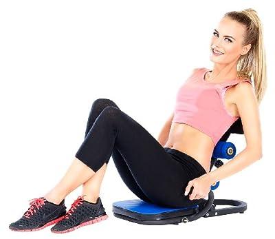 PEARL sports Fatburn Fitnessgeräte: Heimtrainer HT-100 für Ihr komplettes Workout (Bauch-, Beine-, Po-Multitrainer)