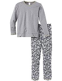 Calida Panda & Friends Mädchen Pyjama, Conjuntos de Pijama para Niñas