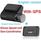 70mai Pro Car Dash Cam DVR Recorder with in-Built WiFi,GPS, Night Vision, 1944P, 2 inch LCD Display, Motion Detection