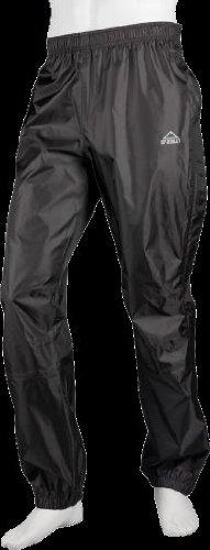 McKinkley Unisex Regenhose Longville Schwarz Regen Hose, Größe:S -
