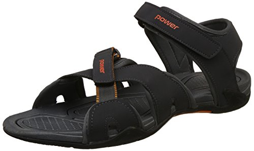 Power Men's Sandal M Grey Floaters-10 UK/India (44 EU)(8612858)