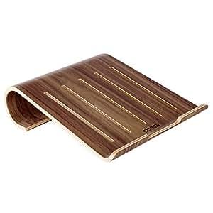 samdi h lzerne k hlung st nder universal elegante halter halterung dock aus holz f r macbook. Black Bedroom Furniture Sets. Home Design Ideas