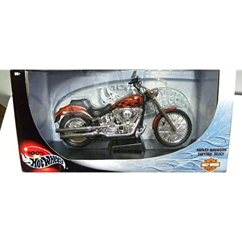 Hot Wheels 29618 HARLEY-DAVIDSON - Softail Deuce scala 1:10