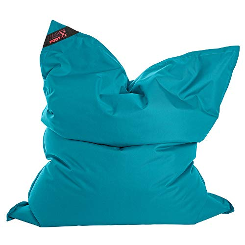 SITTING POINT only by MAGMA Sitzsack Scuba Big Foot 130x170cm Petrol (Outdoor)