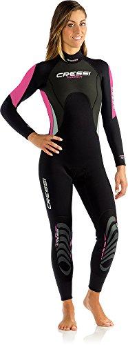 Cressi Morea Damen - Neoprenanzug 3mm für alle Wassersportarten (4 3 Damen Neoprenanzug)