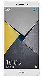 Honor 6X Smartphone 4G LTE, Diplay 5.5 pollici FHD, Dual SIM, 32 GB ROM, 3 GB RAM, Dual Camera 12 Megapixel, Sensore Fingerprint, Android, Argento