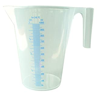 2 Litre Measuring Jug Translucent (x2)