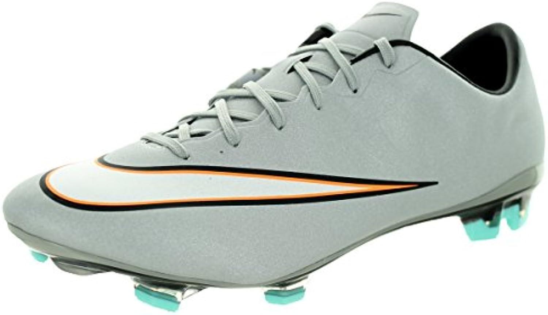 Nike Mercurial Veloce II CR FG Fussballscarpe metallic argentoo-nero-hyper turquoise-nero - 44 | Vendita Calda  | Uomo/Donna Scarpa