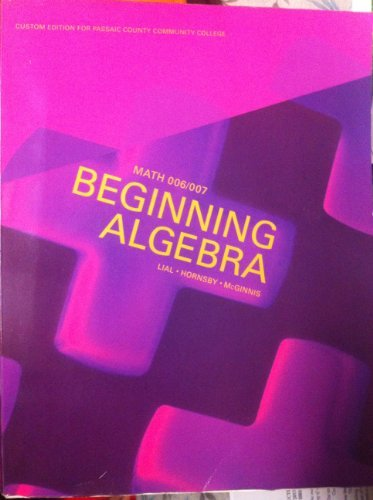 Beginning Algebra 11th Edition by Margaret L. Lial (2011-07-31)