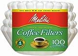 Melitta 62912 100 Count Wei- 4 Cup Basket Kaffeefilter