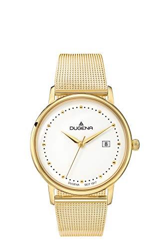 Dugena Reloj Analógico para Mujer de Cuarzo con Correa en Acero Inoxidable 4460792-MB02