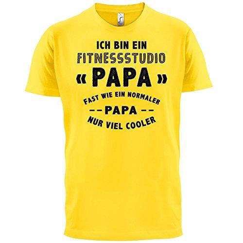 Ich bin ein Fitnessstudio - Herren T-Shirt - 13 Farben Gelb