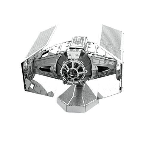Metal Earth - Fascinations, Star Wars Darth Vader's TIE Fighter 3D metal puzzle,...